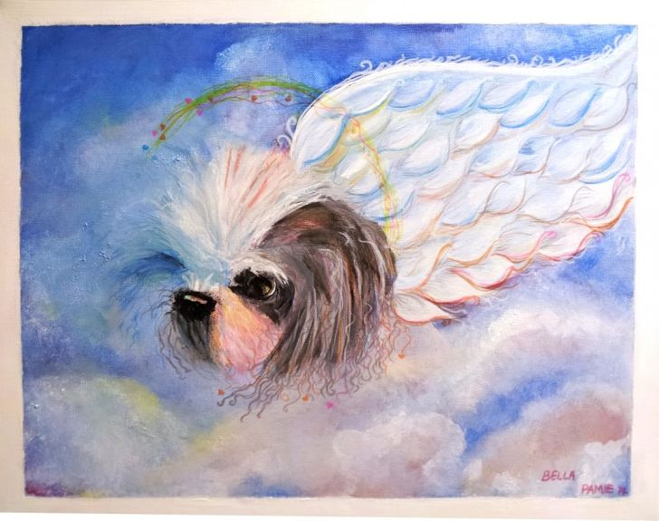 Memorial Painting of Bella